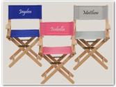 Personalized Kids Director Chairs