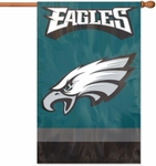 Philadelphia Eagles Applique Banner Flag [AFPH-FS-PAI]