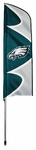 Philadelphia Eagles Swooper Flag w/ Pole [SFPH-FS-PAI]