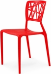 Phoenix Stackable Side Chair - Red [SC-2602-162-RED-SCON]