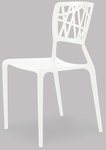 Phoenix Stackable Side Chair - White [SC-2602-162-WHITE-SCON]