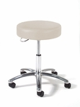 970 Series Physician Stool with Polished Aluminum Base [973-FS-INT]