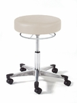 990 Series Physician Stool with Chrome Base with Toe Caps [992-FS-INT]