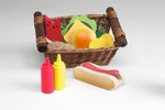 Pretend Play Picnic Lunch Basket [FBA0103-FS-ANA]