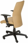 Pinnacle High Back Adjustable Leather Conference Chair - Dune [CEL-7120-B-TA-DUNE-FS-CPL]