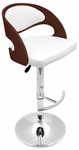 Pino Barstool in Cherry and White [BS-JY-PN-CH-W-FS-LUMI]