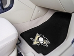 Pittsburgh Penguins 2-pc Printed Carpet Car Mats 18'' x 27'' [10356-FS-FAN]