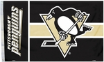 Pittsburgh Penguins 3 Ft. X 5 Ft. Flag with Grommets [84213B-FS-BSI]