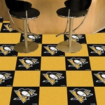 Pittsburgh Penguins Carpet Team Tiles - 18'' x 18'' Tiles - Set of 20 [10700-FS-FAN]