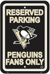 Pittsburgh Penguins Plastic Parking Sign [80213-FS-BSI]