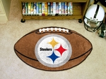 Pittsburgh Steelers Football Rug [5828-FS-FAN]
