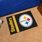 Pittsburgh Steelers - Uniform Inspired Starter Mat 19'' x 30'' [8233-FS-FAN]