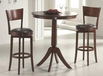 Plainview 36'' Diameter Round Wood Bar Height Dining Table [4166PTB-FS-HILL]