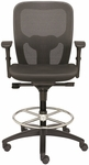 Polo Drafting Stool with Contoured Mesh Back [PL7902M-FS-VALO]