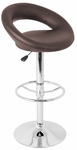 Posh Bar Stool Brown [BS-TW-POSH-BN-FS-LUMI]