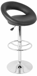 Posh Bar Stool in Black [BS-TW-POSH-BK-FS-LUMI]