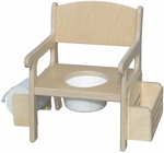 Potty Chair with Accessories [28-FS-LC]