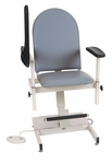 Power Designer Blood Drawing Chair - Padded Vinyl [2588-FS-WIN]