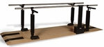 Power Height Parallel Bars - 28''W X 120''L X 29 - 44''H [HAU-1396-FS-HAUS]