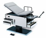 Powermatic® Exam Table - 71''W X 71''L X 26 - 38''H [HAU-4440-FS-HAUS]