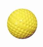 Molded Plastic Practice Field Hockey Ball - Yellow [PFH250XX-FS-AC]