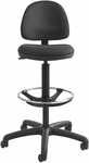 Precision Extended Height Chair with Foot Ring - Black [3401BL-FS-SAF]