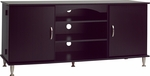 Premier 58''W Large Flat Panel Plasma/LCD TV Console with Media Storage [BPS-6000-K-FS-PP]