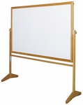 Premiere Series Reversible Mobile Board with Wood Frame [MLC153-CLA]