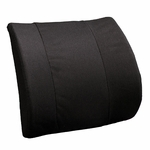 BetterBack® Molded Seat Design Deluxe Memory Lumbar Support Cushion - Black [BB6006BK-FS-JB]