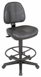 Premo Height Adjustable Black Leather Ergonomic Chair [CH444-90DH-FS-ALV]