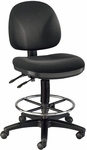 Prestige Height Adjustable Artists/Drafting Chair - Black [DC310-40-FS-ALV]