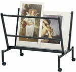 Black Print and Poster Holders - 38''W X 25''D [PHR100-BK-FS-ALV]