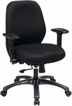 Pro-Line II 24/7 High Intensity Use Ergonomic Office Chair with 2-to-1 Control - Black [54666-231-FS-OS]