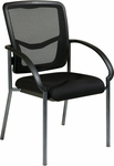Pro-Line II ProGrid® Back Lumbar Support Visitors Chair with Arms - Black [85670-30-FS-OS]