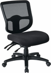 Pro-Line II ProGrid® Ergonomic Task Chair with Ratchet Back and Dual Function Control - Black [98341-30-FS-OS]