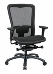 Pro-Line II ProGrid® High Back Office Chair with 2-Way Adjustable Arms and Lumbar Support - Black [93720-FS-OS]