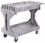 400 lb Capacity Large Procart with Casters - Gray [30936GRAY-FS-AKR]