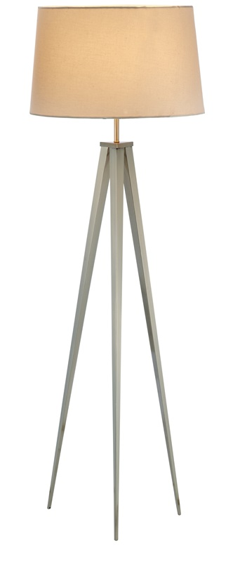 producer floor lamp stainless steel 3264 22 by adesso bizchair. Black Bedroom Furniture Sets. Home Design Ideas