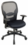Space Professional Breathable Mesh Back Managers Chair with Adjustable Arms and Mesh Seat [2300-FS-OS]