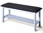 Quality Line Treatment Table with Storage Shelf - 24''W X 72''L X 31''H [HAU-4024-FS-HAUS]