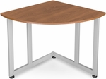 Quarter Round Table and Telephone Stand - Cherry Finish [55107-CHY-FS-MFO]