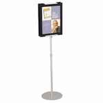 Quartet Adjustable Sign Stand [QRT7923-FS-SP]
