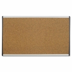 Quartet Bulletin Board - 24'' x 14'' - Cubicle/Dry -Wall Mountable [QRTARCB2414-FS-SP]