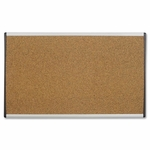 Quartet Bulletin Board - 30'' x 18'' - Cubicle/Dry -Wall Mountable [QRTARCB3018-FS-SP]