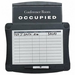 Quartet Conference Room Scheduler Sign [QRT995-FS-SP]
