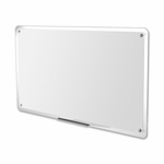 Quartet Dry -Erase Board -Translucent Edge -with Dry -erase Mrkr. -36'' x 23'' [QRTTM3623-FS-SP]
