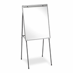 Quartet Dry -erase Easel -with29'' x 40'' Board -Adjust 40'' -70'' -Aluminum [QRT81E-FS-SP]