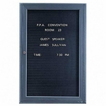 Quartet Magnetic Letter Message Board [QRT2963LM-FS-SP]