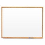 Quartet Marker Board - 4' x 3' - Oak Frame [QRTS574-FS-SP]