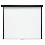 Quartet Spring Roller Wall / Ceiling Projection Screen [QRT660S-FS-SP]